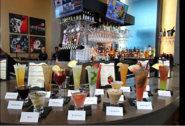Some of the cocktails offered at Cobbster's Kitchen & Bar