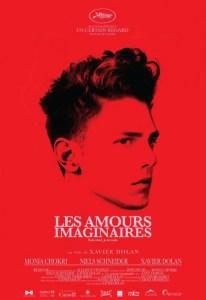 """Affiche """"Les amours imaginaires"""" de Xavier Dolan (2010)"""