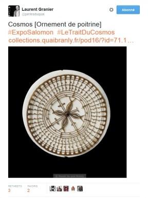 L'#ExpoSalomon vue par @perlesduquai