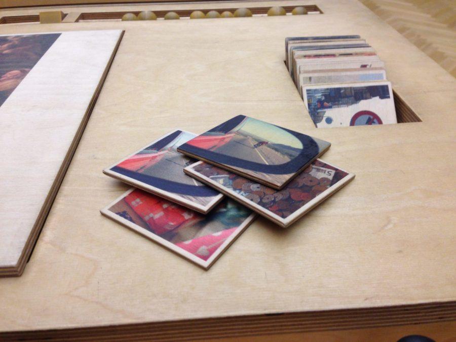 Jeux de plateau avec des tableaux du XVII°s, Statens Museum for Kunst