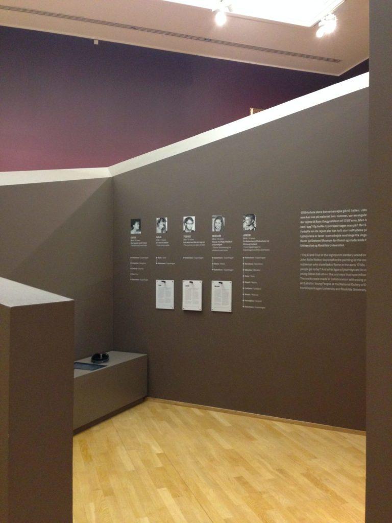 """""""Les voyages forment la jeunesse"""", Statens Museum for Kunst"""