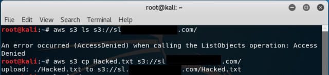 Subdomain Takeover via Unsecured S3 Bucket Connected to the