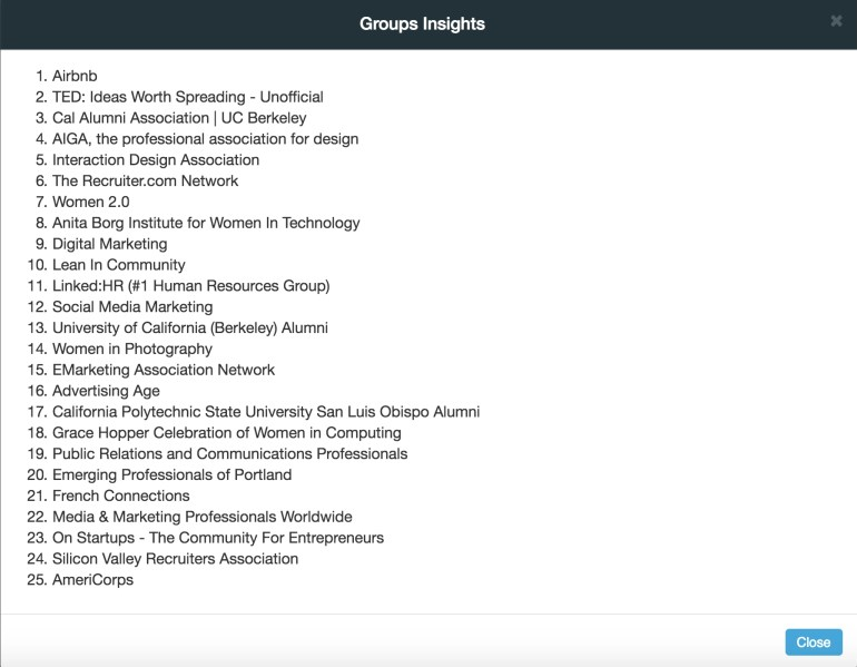 airbnb diversity linkedin groups