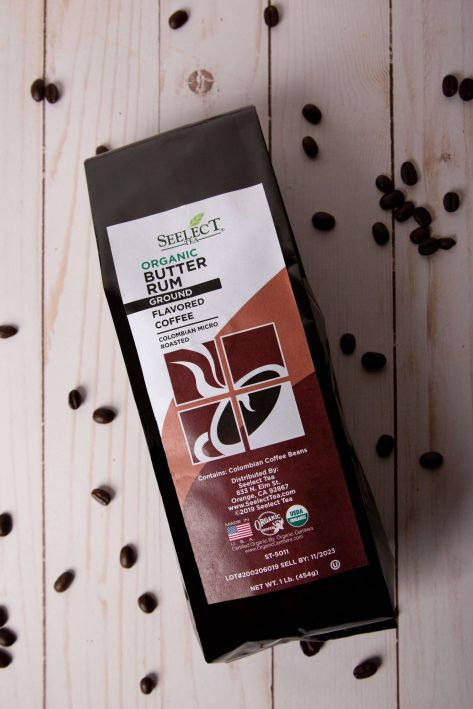 Butter Rum Flavored Coffee bag