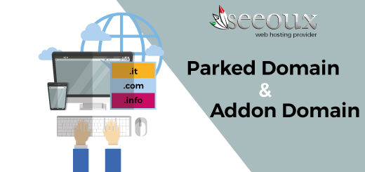 parked domain addon domain