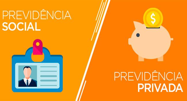 Qual a diferença entre previdência social e previdência privada?