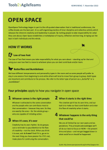 OpenSpace Handout English