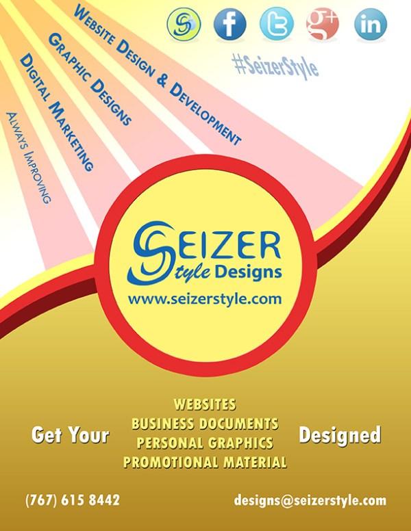 2014 SeizerStyle Designs Summer Poster