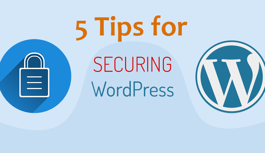 5 tips for securing WordPress websites