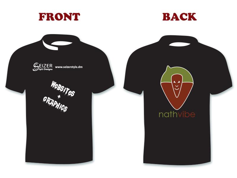 SeizerStyle Designs nathvibe 2013 T-Shirt (black)