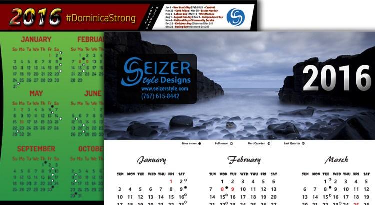 2016 Calendar Collection