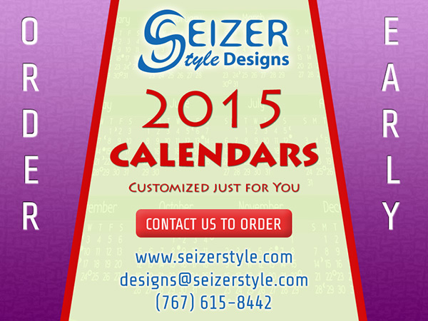 Order 2015 Calendars Early