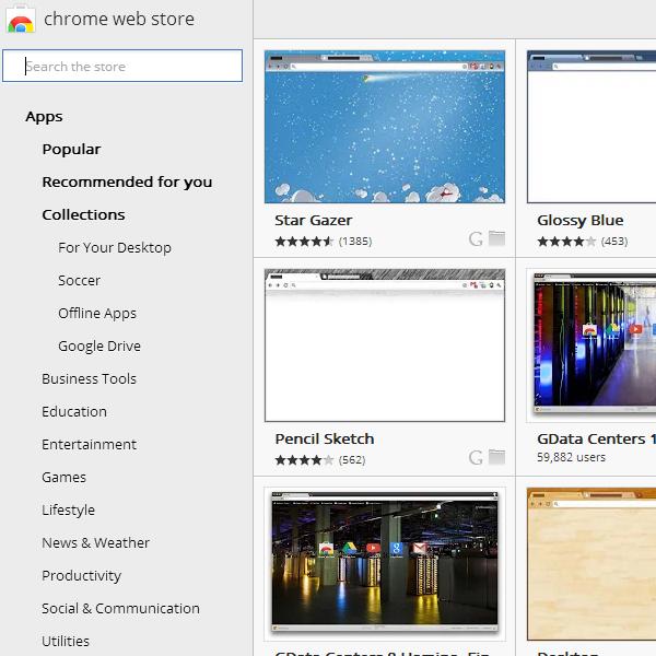 Chrome Change Theme 3