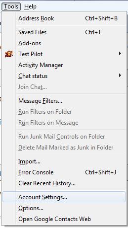 Email Signature Thunderbird 1