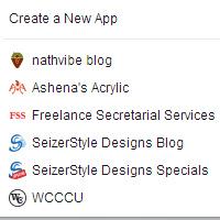 Facebook Web Apps