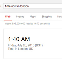 Google time now