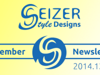 SeizerStyle Designs Newsletter - December 2014