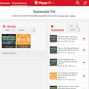 Player.FM screenshot