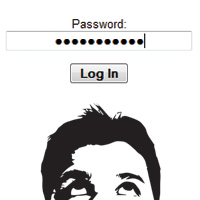 Eyes prying password image