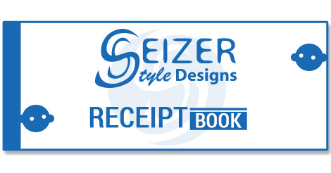 SeizerStyle Desigs 2014 Receipt Book