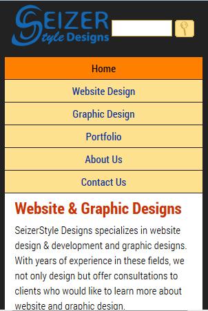 2013 SeizerStyle Designs responsive redesign