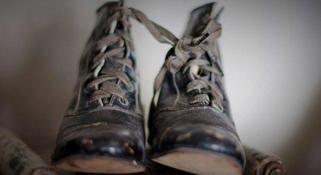 A Child's Shoes