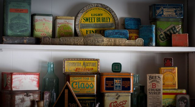 Country Store Tins