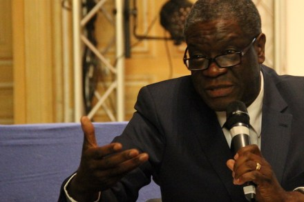 Denis Mukwege en France
