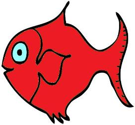red-fish: image adapted from http://www.eslkidstuff.com/images/fish.gif
