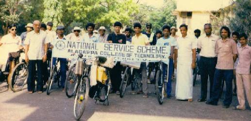 Chennai-Pondy Cycle Trip, 1988
