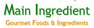 Main Ingredient gourmet online shop