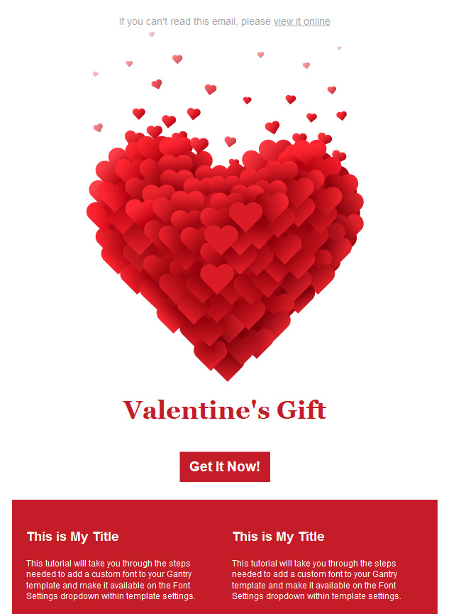10 9 Free Valentines Day Email Templates