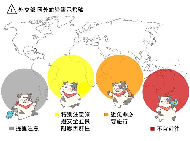 因應新型冠狀病毒流感疫情影響,有許多國家已列為警示燈不宜前往,哞寶大家整理好了關於旅遊警示燈Q&A?旅遊警示不直接代表退貨標準,觀光局有一套自己退費分級標準,快來看看旅遊警示燈如何分辨呢? | 東南旅遊