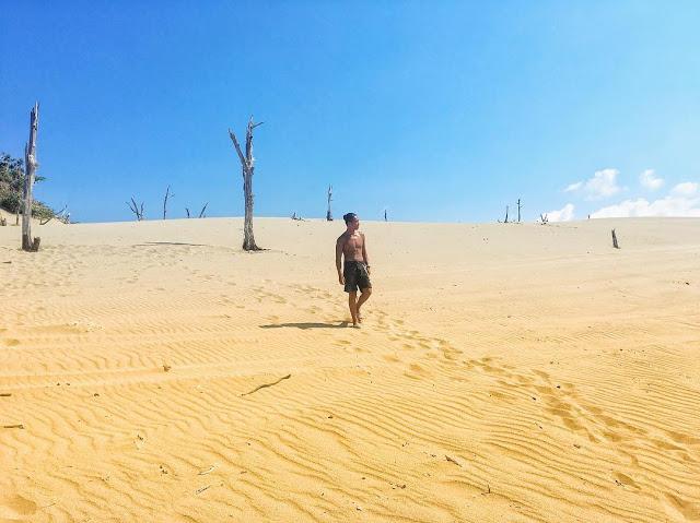 墾丁景點九棚大沙漠|東南旅遊