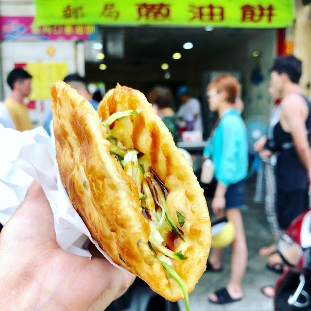 澎湖美食郵局口蔥油餅|東南旅遊