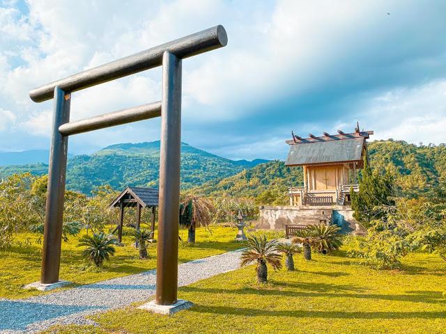 日式神社-台東鹿野神社|東南旅遊