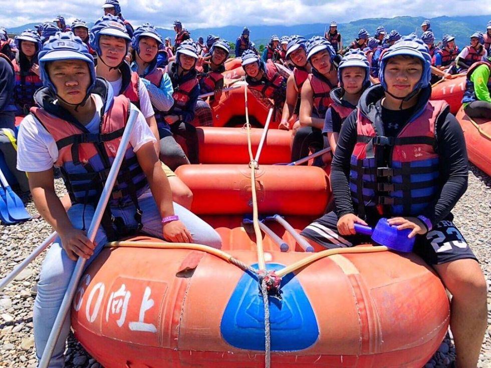 花蓮秀姑巒溪急流泛舟|東南旅遊