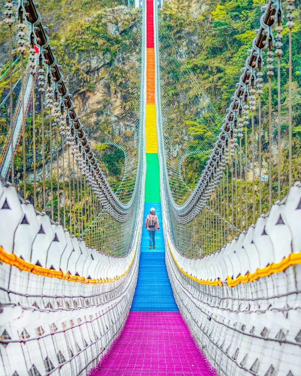 雙龍七彩吊橋 | 東南旅遊