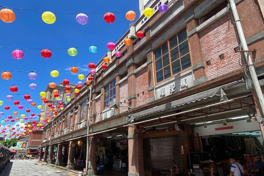 迪化街十連棟| 東南旅遊