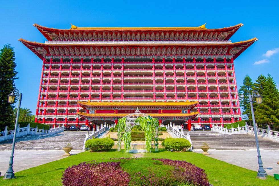 圓山大飯店建築外觀