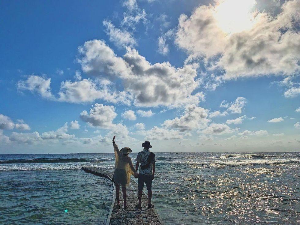 綠島大白沙沙灘 東南旅遊