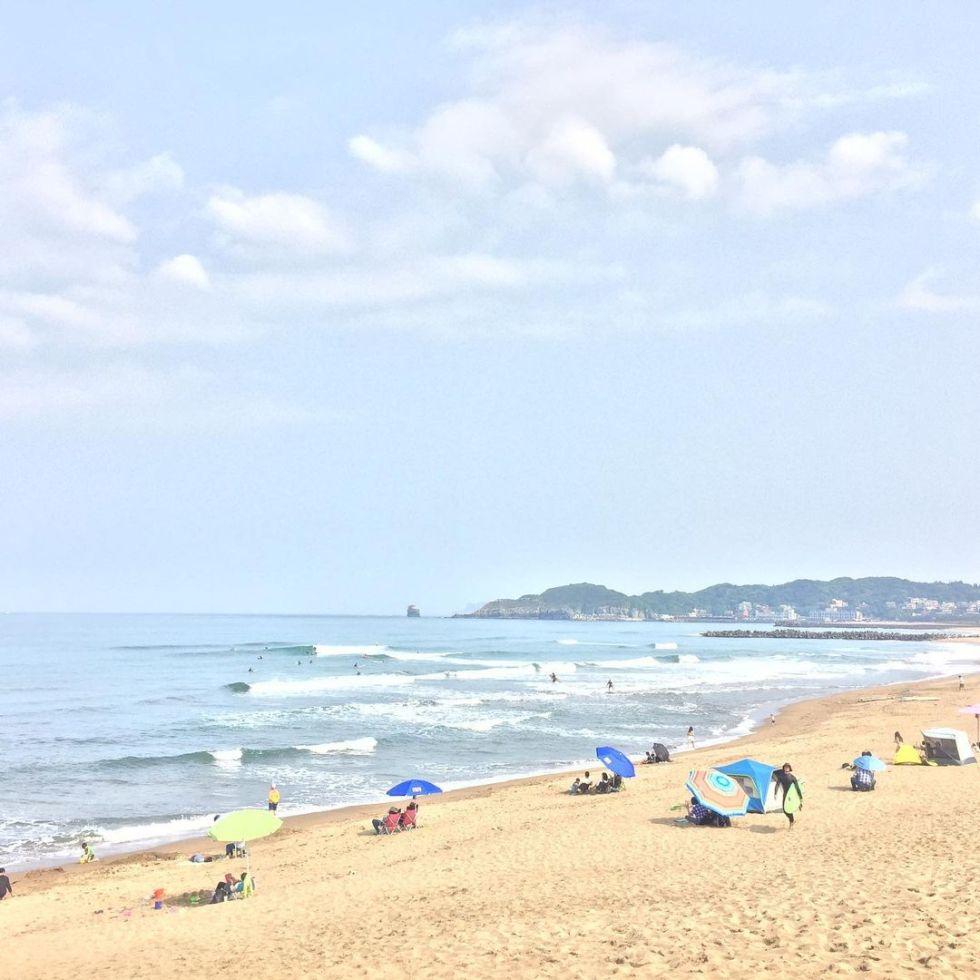 中角灣沙灘|圖片來源:IG帳號 @tyw_yuwei