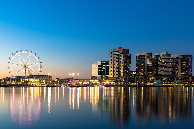 墨爾本之星-摩天輪|東南旅遊