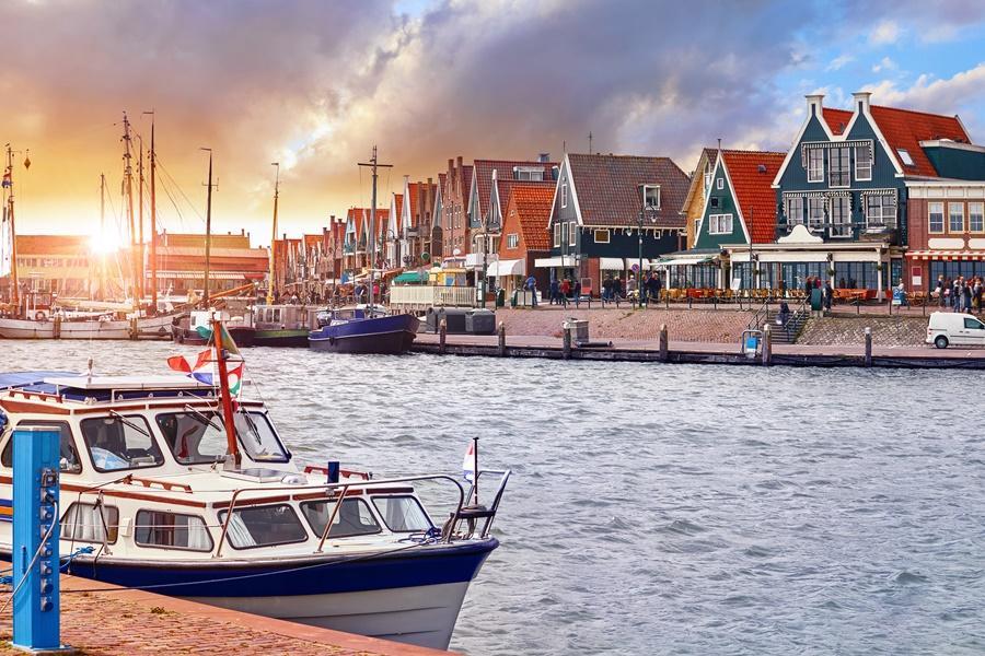 荷蘭佛倫丹北海漁村|東南旅遊