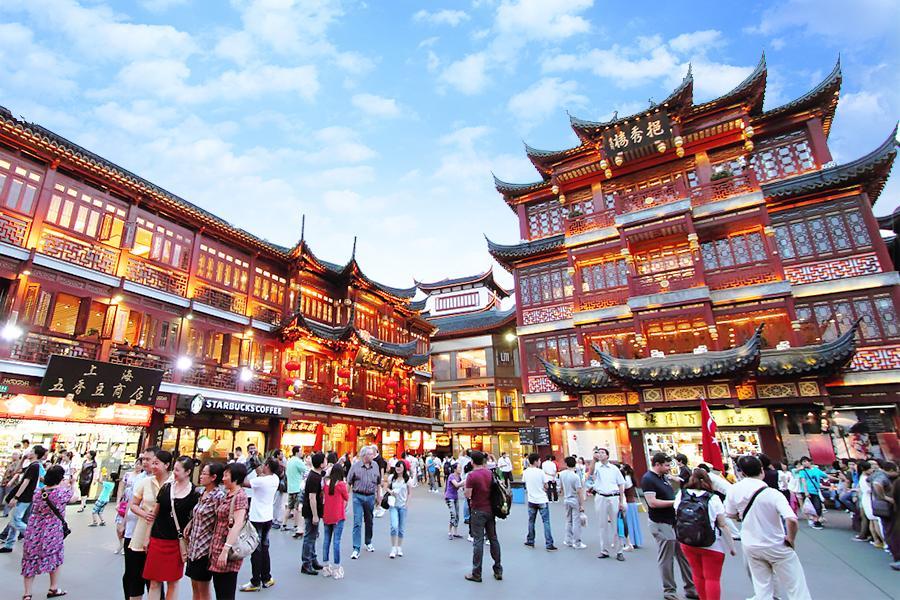 上海城隍廟商圈|東南旅遊