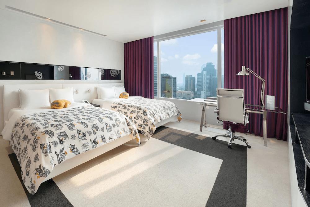 曼谷W飯店 都會客房 東南旅遊