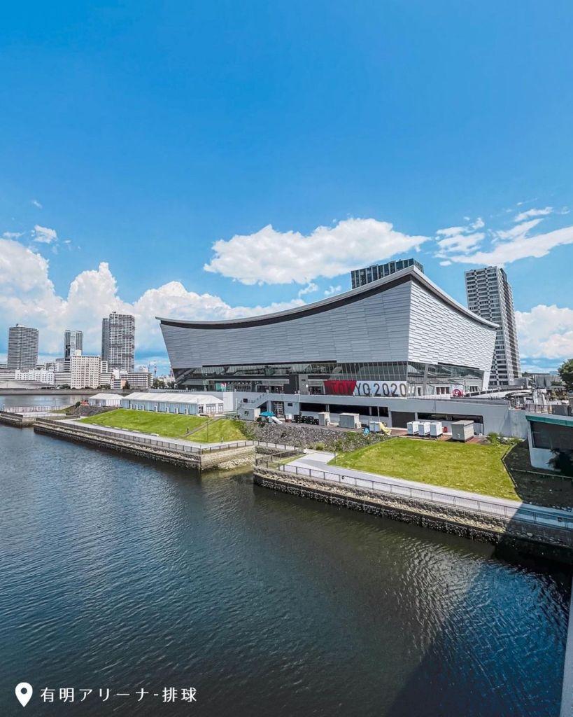 東奧 有明體育館|圖片來源:IG帳號 @nan_tokyo_daily