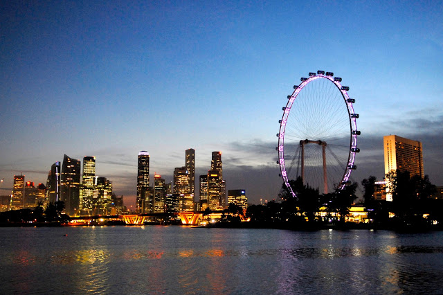 新加坡摩天景觀輪 東南旅遊
