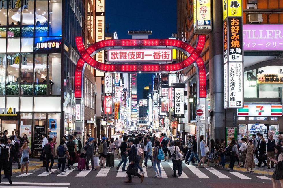 新宿歌舞伎町|圖片來源:IG帳號 @jojotasi1014