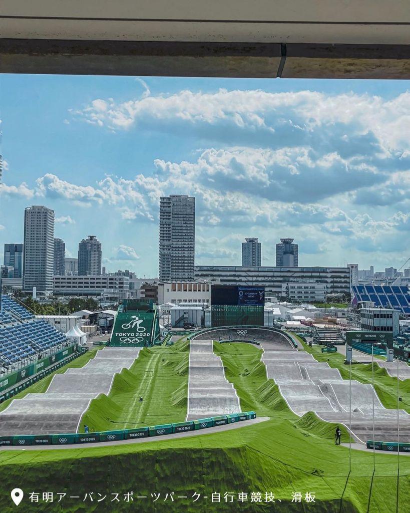 東奧 有明都市運動公園 |圖片來源:IG帳號 @nan_tokyo_daily